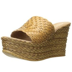 Sbicca woven wedges